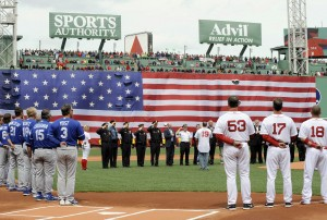 Red Sox game after Boston bombings
