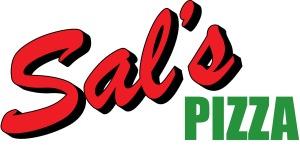 sal's pizzafull logo outline