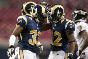 Baltimore Ravens v St. Louis Rams