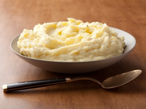 Sour Cream Mashed Potatoes; Ina Garten