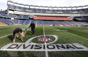 Gillette-Stadium-pintura-Divisional-Game