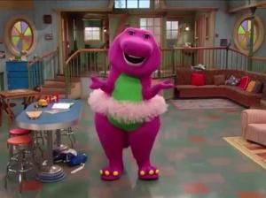 Barney_in_tutu
